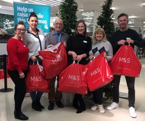 Marks and Sparks 2019 gift handover