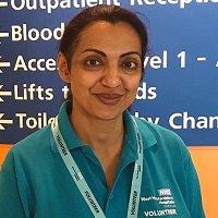 Volunteer Lubna Bhatti