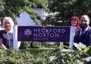 Heckford Norton staff and sign