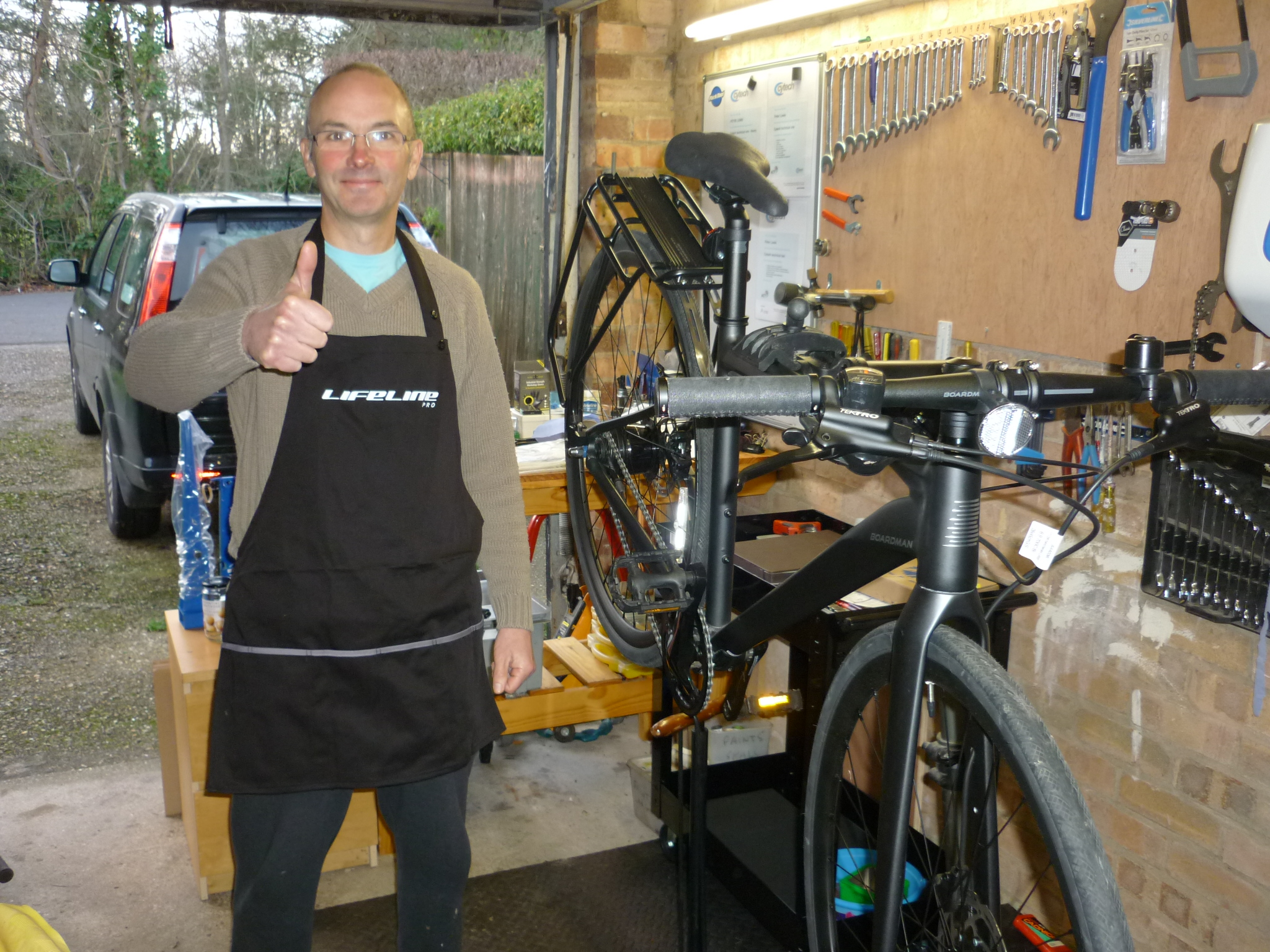 FREE time and labour for a bike maintenance check and repairs